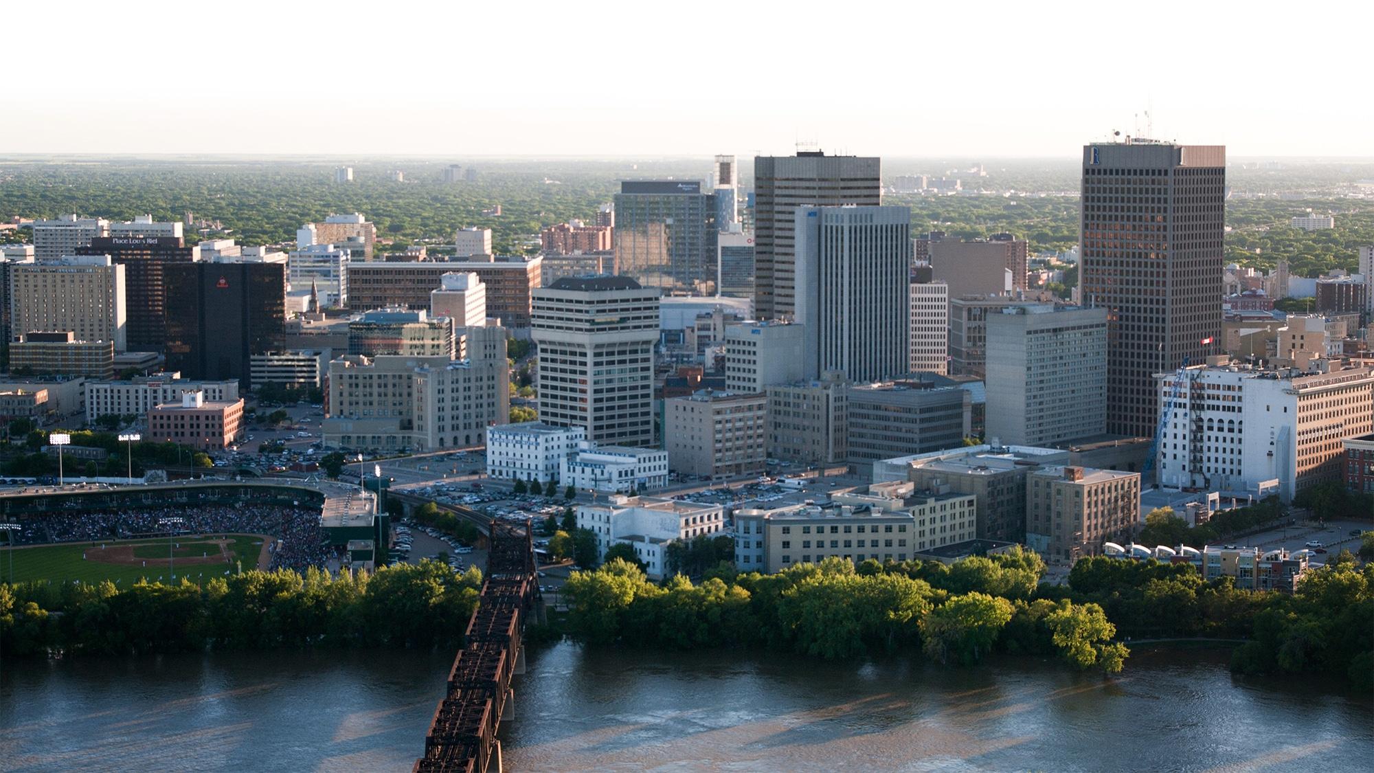 Winnipeg Skyline & River